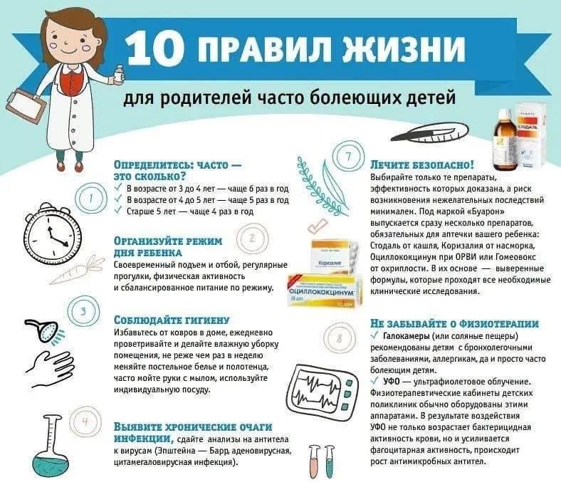Безопасные способы поднять иммунитет ребенку