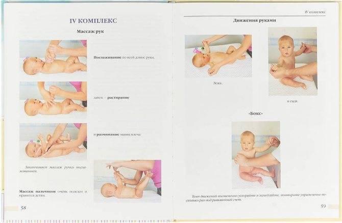Гимнастика для детей от рождения до года