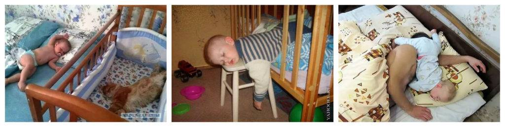 Как отучить ребенка от укачивания: на руках и в кроватке