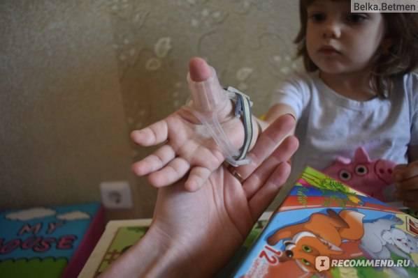 Как быстро отучить ребенка сосать палец