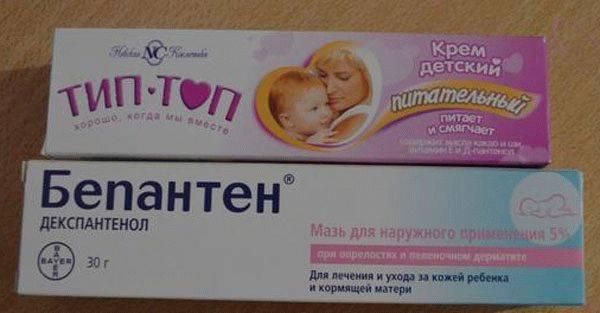 Бепантен для новорожденных: инструкция по применению крема, мази, аналоги