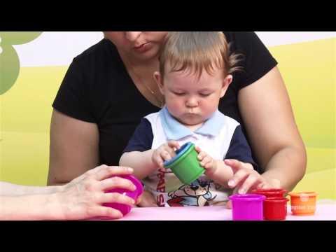 Развивающие упражнения для ребёнка от 6 месяцев до 1 года