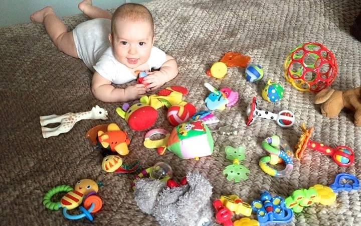 Игры с ребенком в 1 месяц