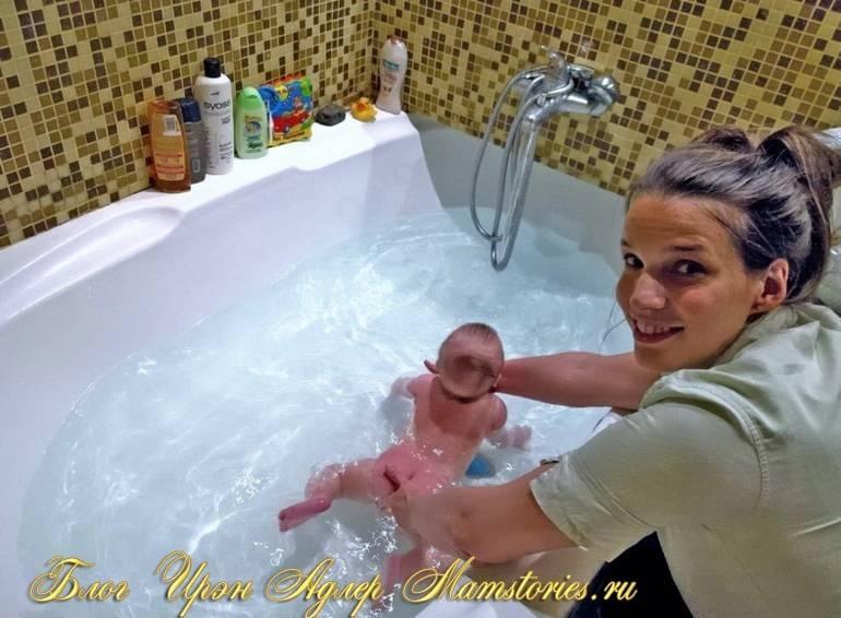 Полезно ли плавание для грудничков в ванне? обучение и советы