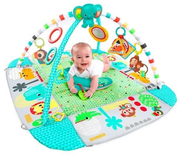 Развивающий коврик для детей: со скольки месяцев нужен, как выбрать лучший?