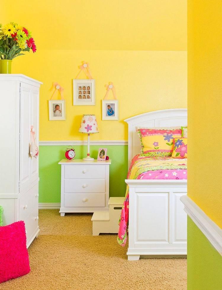 Как покрасить детскую правильно, практично и красиво