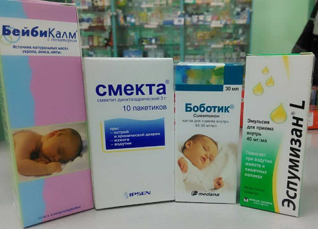Средства от коликов для новорожденных самые эффективные