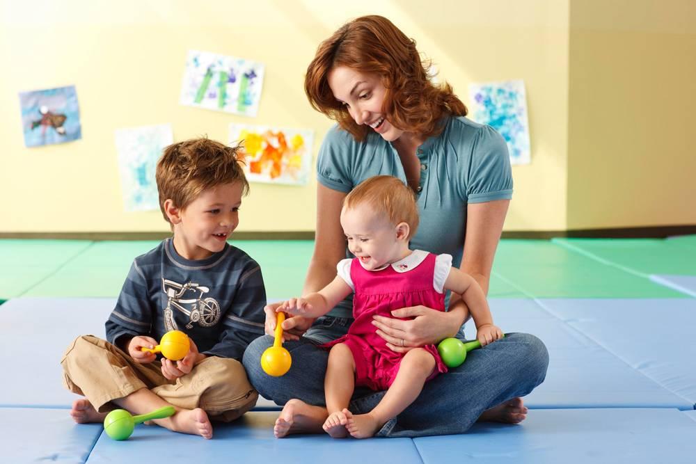 Раннее развитие в системе монтессори - группы от 8 месяцев до 3 лет