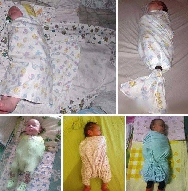 Как отучить ребенка от пеленания?