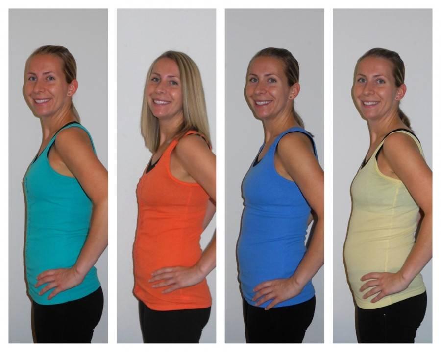 8-й месяц беременности