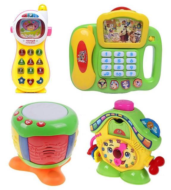 Топ-8 обучающих игрушек для детей от 3 лет