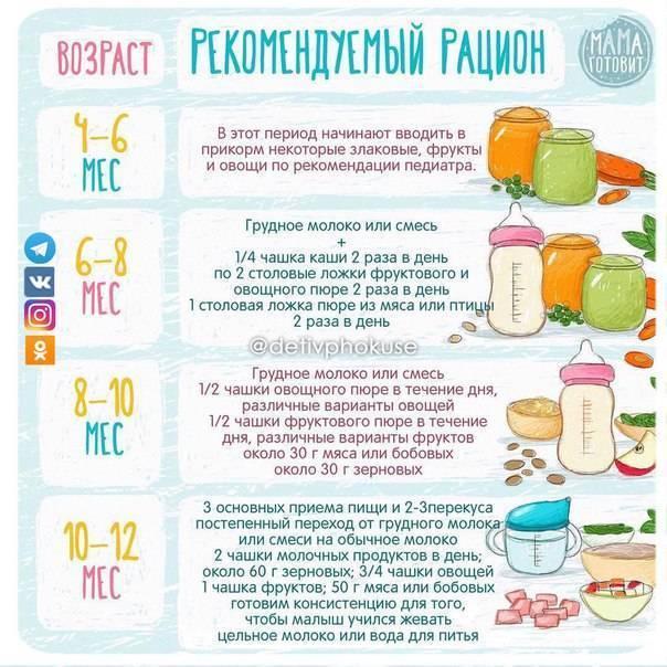 Фруктовое пюре для первого прикорма своими руками: топ лучших рецептов
