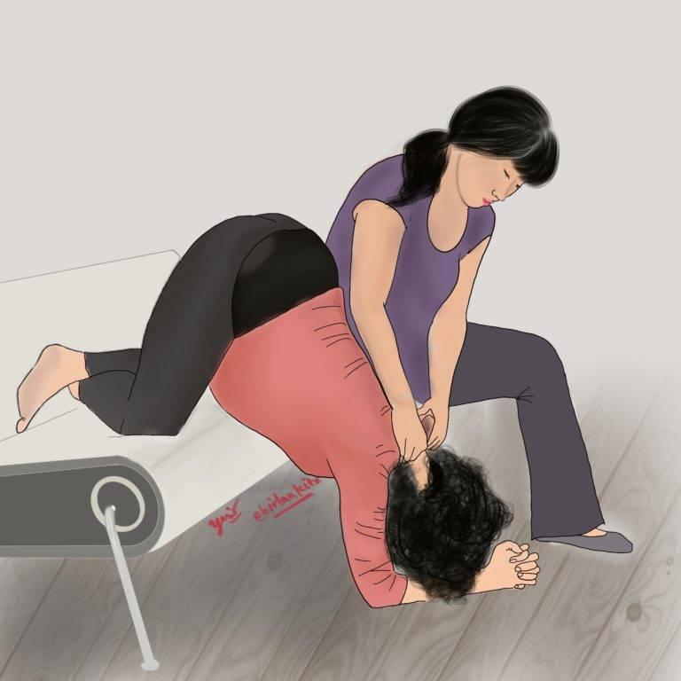Упражнения чтобы ребенок перевернулся головой вниз из тазового предлежания