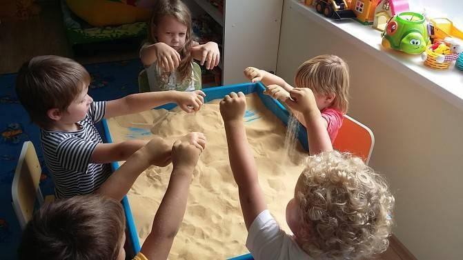 Развивающее занятие с применением песочной терапии для детей 4–5 лет. воспитателям детских садов, школьным учителям и педагогам - маам.ру