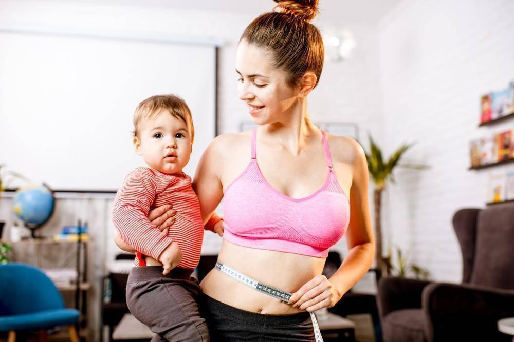 Как похудеть после родов во время лактации