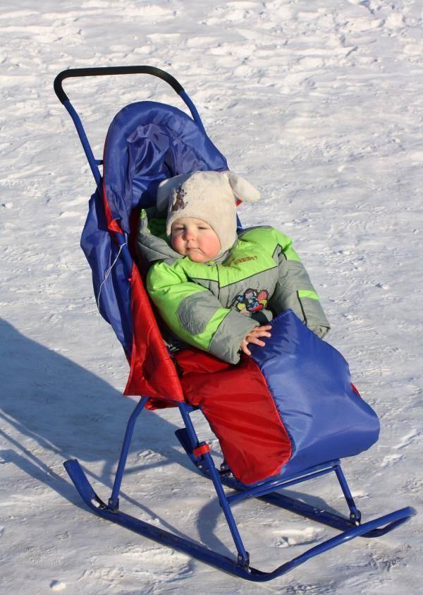 Рейтинг лучших санок-колясок для детей