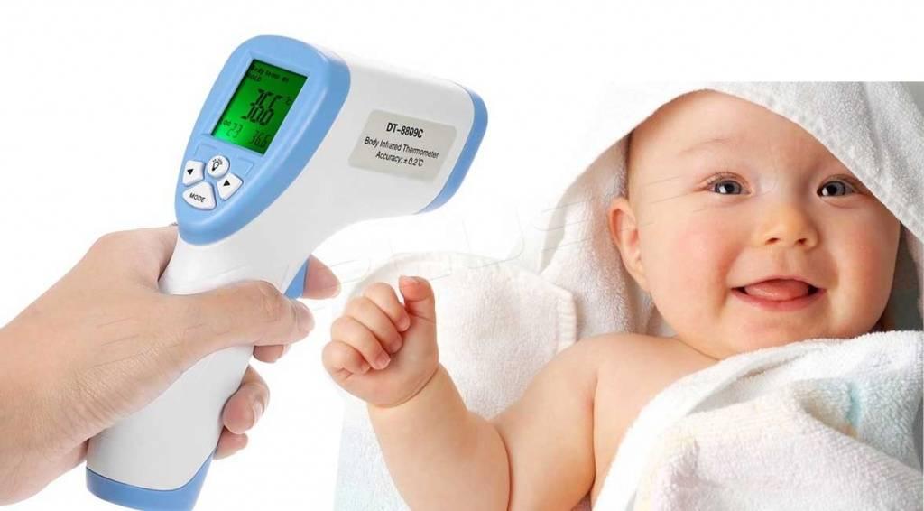 Как правильно измерить температуру у грудничка