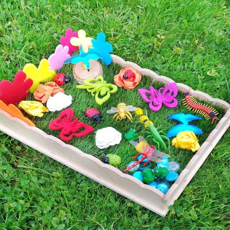 «сенсорная коробка своими руками». игра для детей до 3 лет