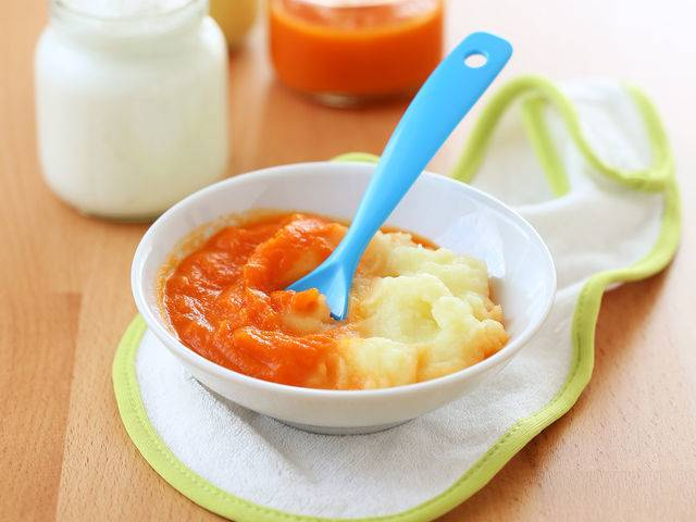 Вводим первый прикорм: овощное пюре