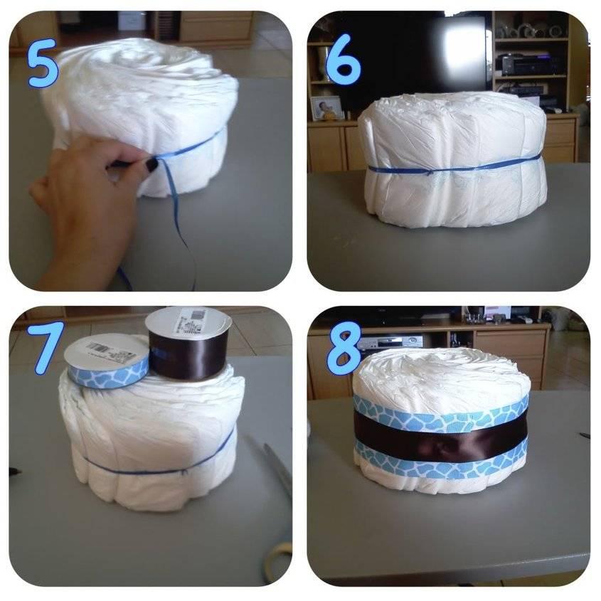 Свит-дизайн день рождения моделирование конструирование мой первый тортик из памперсов и небольшой мк бумага гофрированная бусины кружево материал оберточный