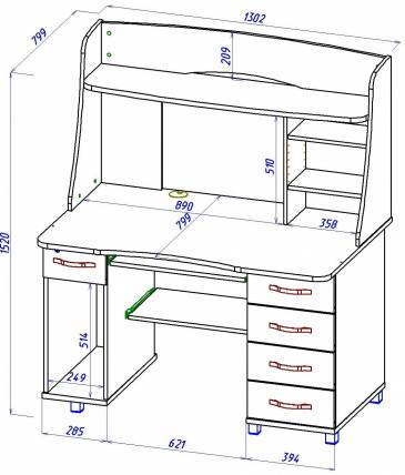 Как выбрать письменный стол для школьника