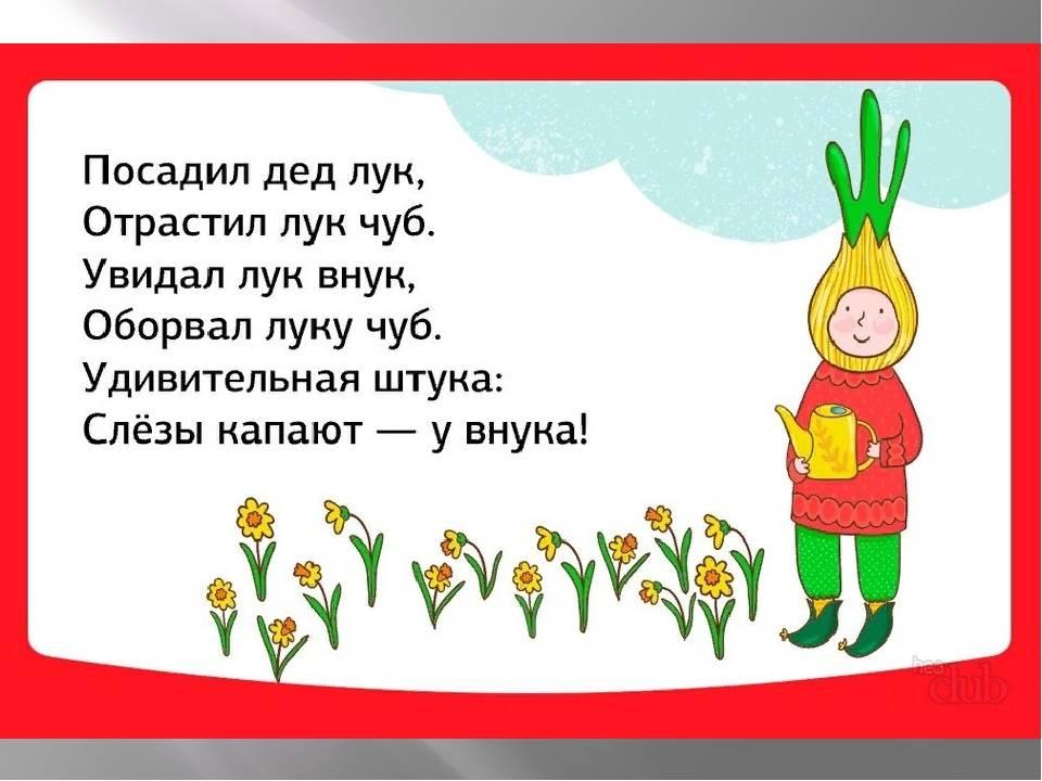Скороговорки для детей 3-4 лет, для развития дикции и речи