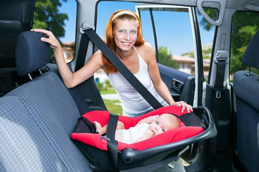 Перевозка детей на переднем сиденье — правила и штрафы