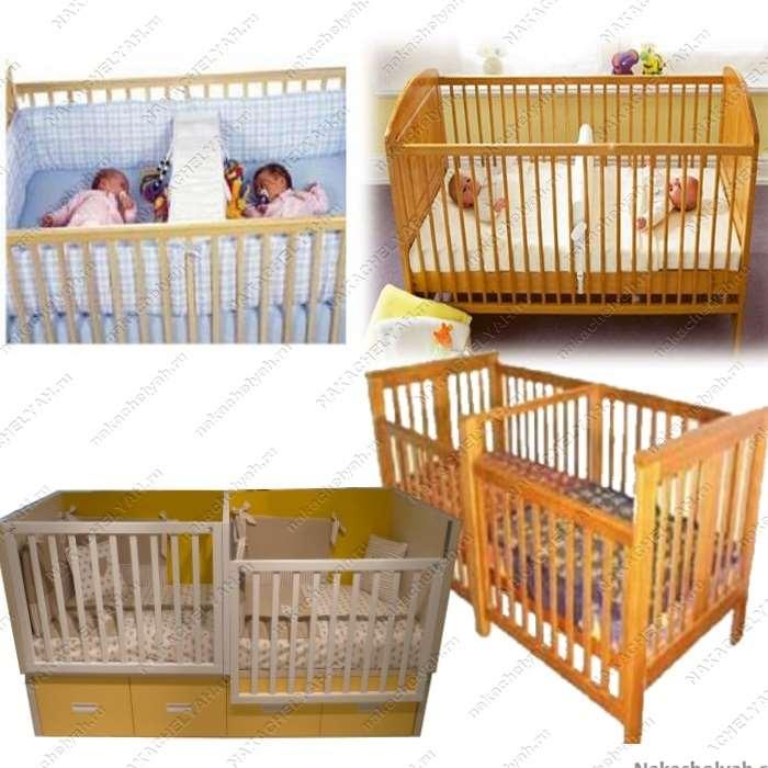 Кроватки для новорожденных: критерии выбора кроватки для двойняшек, стандартные размеры и модификации
