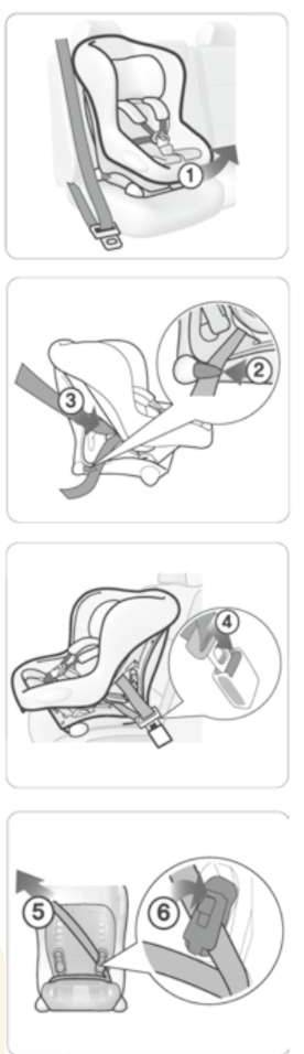 Система крепления автокресла isofix