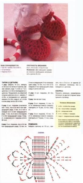Вязание пинеток крючком для начинающих со схемами и описаниями, пошаговые фото (3 мастер-класса)