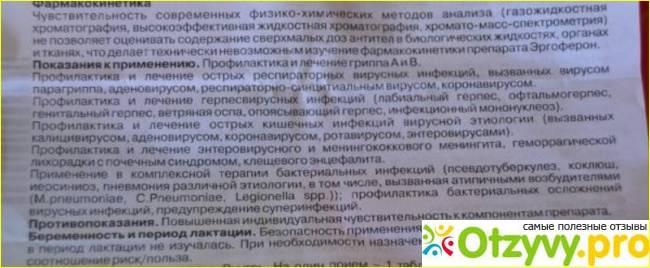 Эргоферон — инструкция по применению | справочник лекарств medum.ru