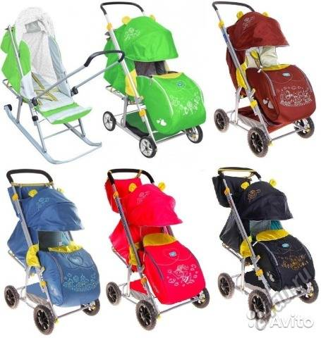 Рейтинг лучших санок-колясок для малышей на 2021 год