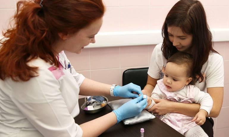 Что расскажет капля крови? как брать кровь на анализ у маленьких детей