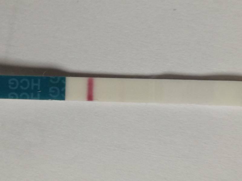 Слабая вторая полоска на тесте на беременность - что это значит? |             эко-блог