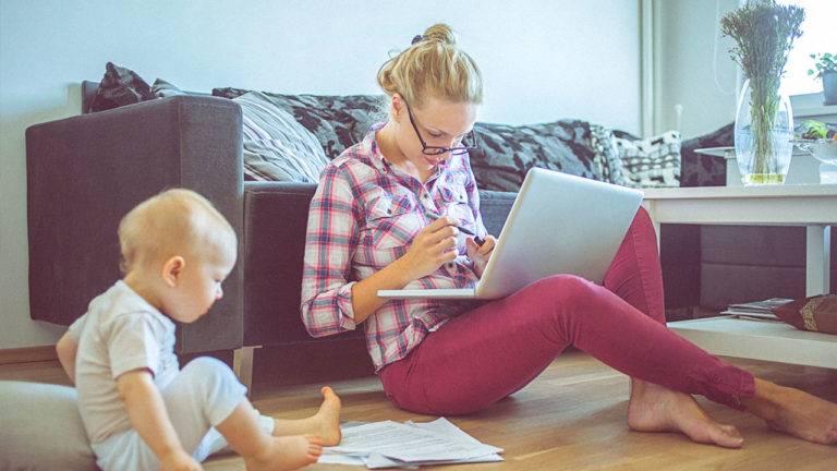 Мама копирайтер в декрете или реально ли заработать в интернете на написании текстов