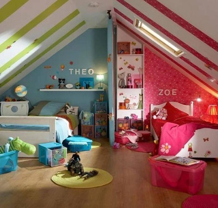 Детская комната для мальчика: фото дизайн интерьера