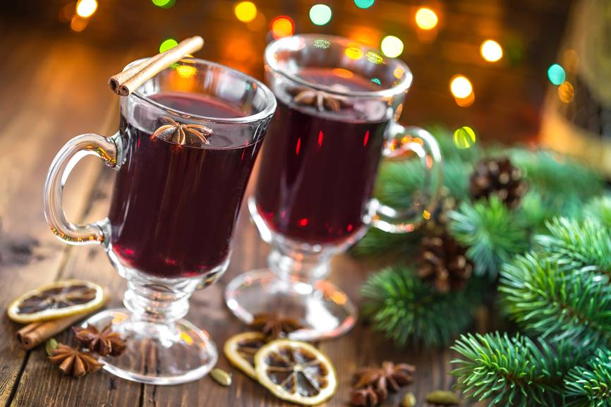 Безалкогольный глинтвейн – 6 рецептов ароматного зимнего напитка