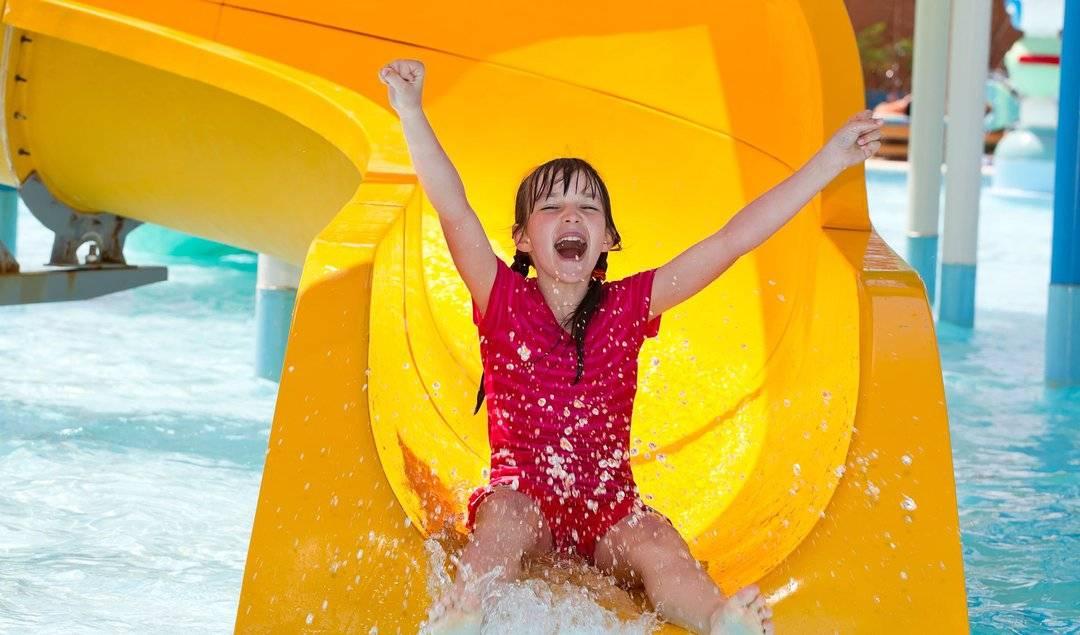 Посещение детьми аквапарка со скольки возможно