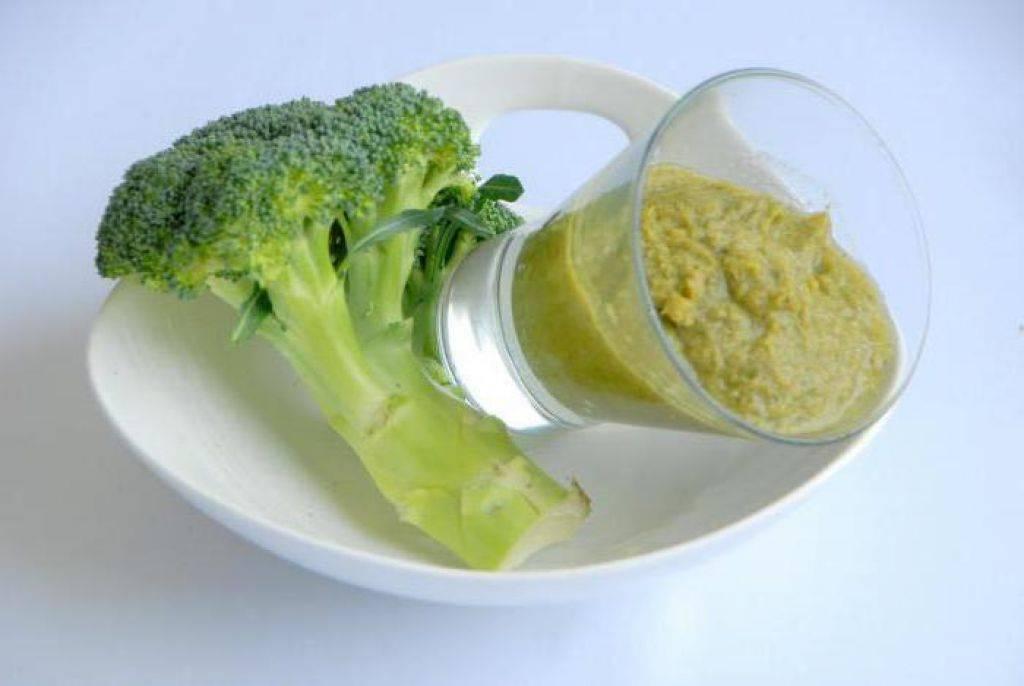 Пюре из брокколи для грудничка: быстрые рецепты для прикорма