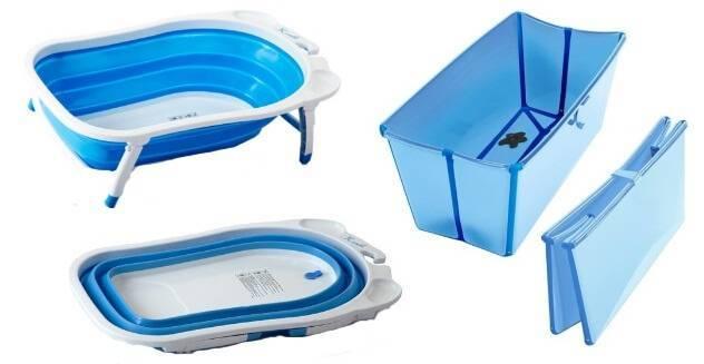 Ванночки для купания новорожденных и подставки для них