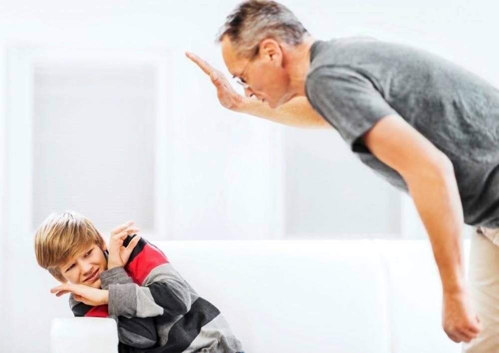 Нужно ли бить ребенка в воспитательных целях?