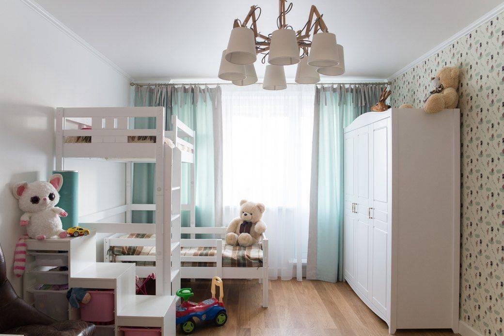 Дизайн детской в хрущёвке — большие идеи для маленькой комнаты