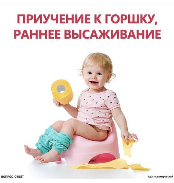 Когда приучать ребенка к горшку – лучший возраст для отказа от подгузников