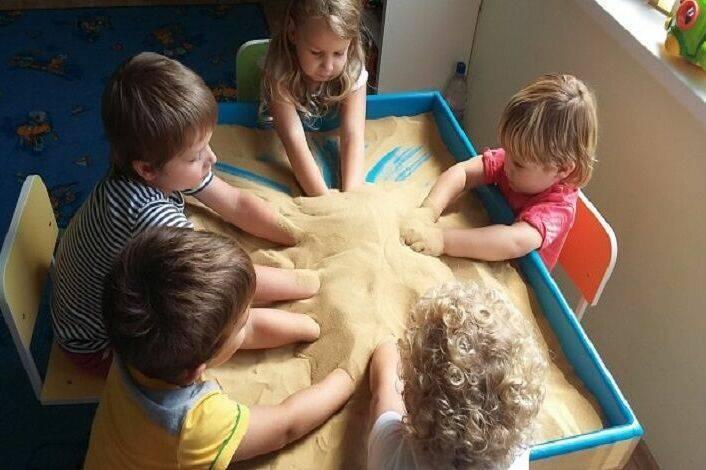 Конспект занятия по песочной терапии с детьми дошкольного возраста «здравствуй, песочек!»