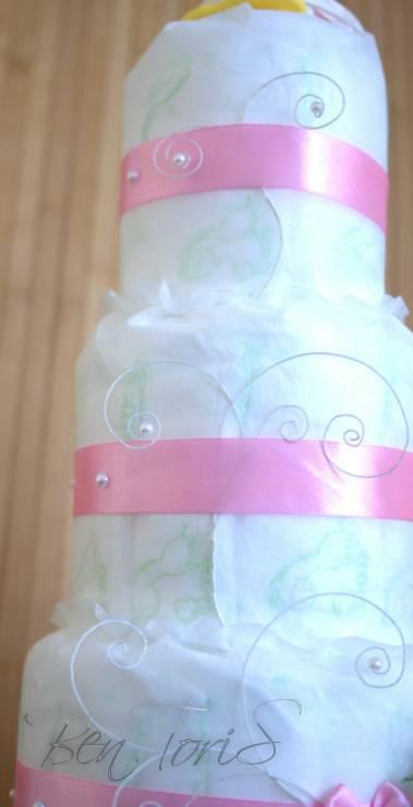 подарок из памперсов своими руками: леденец, корзинка, торт