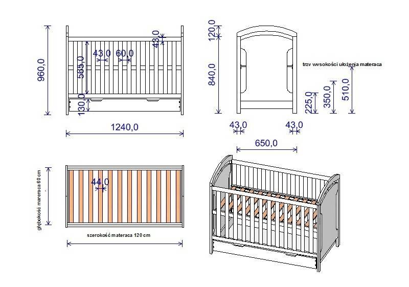 Кроватка для двойни: как подобрать, размеры, фото