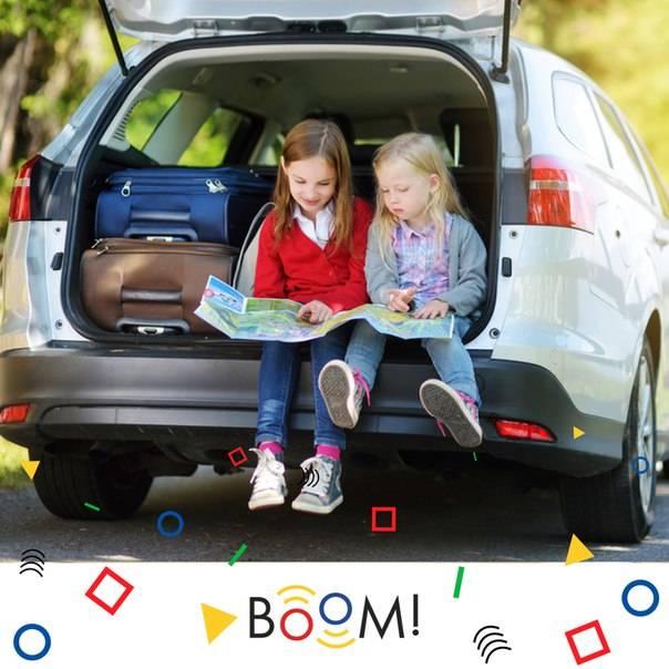 Основы путешествия с детьми на машине: за и против