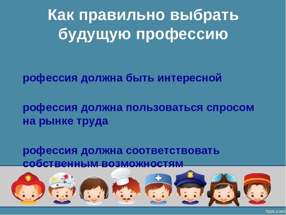 7 шагов к выбору профессии. профгид