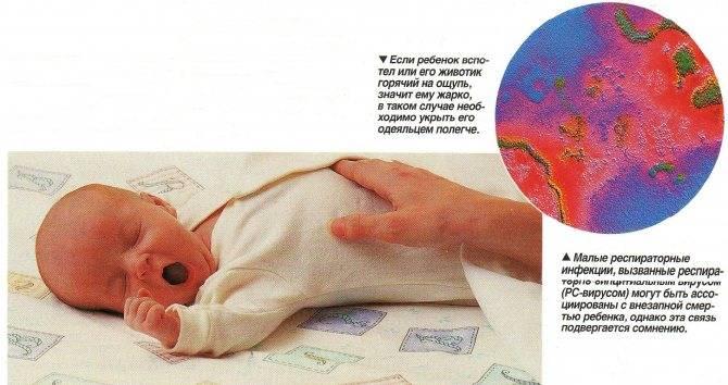 О синдроме внезапной младенческой смерти