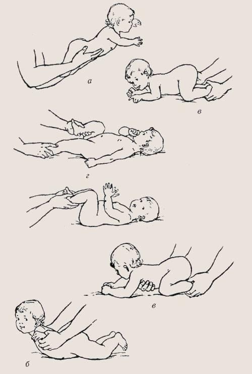Как нужно правильно выкладывать новорожденного на живот